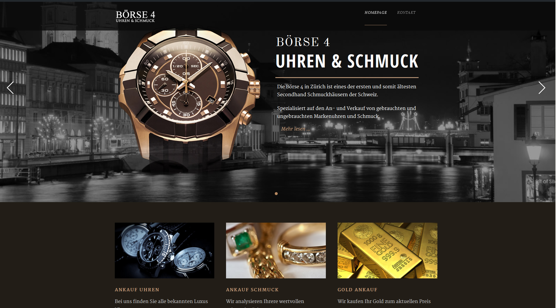 neue website b rse4 ankauf uhren ankauf schmuck ankauf gold z rich. Black Bedroom Furniture Sets. Home Design Ideas