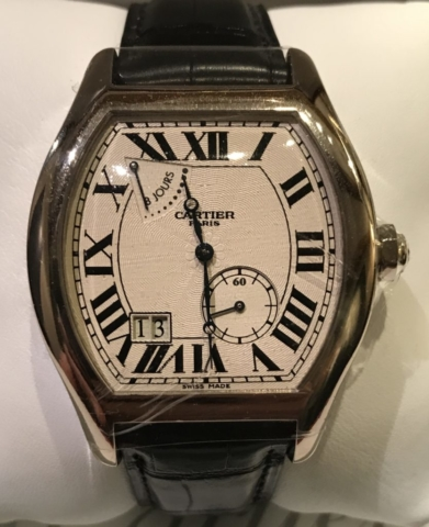 cartier collection prive in platinum rare timepiece